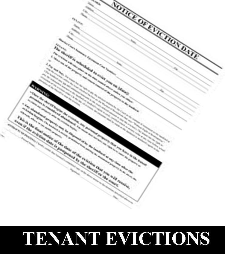 residential tenant eviction